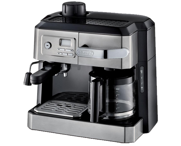 DeLonghi-BC0330T-Combination-Drip-Coffee-and-Espresso-Machine